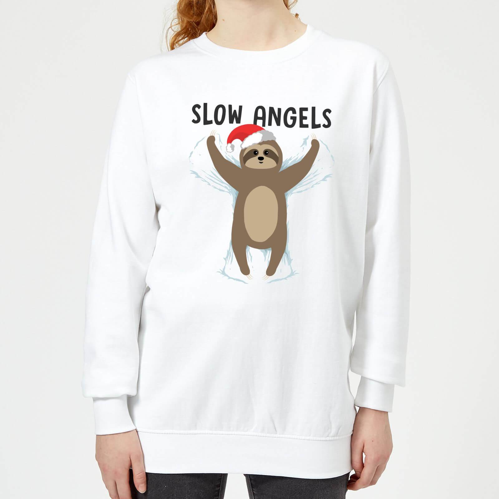 Foute Kersttrui 5xl.Slow Angels Dames Kersttrui Wit Zavvi Nl