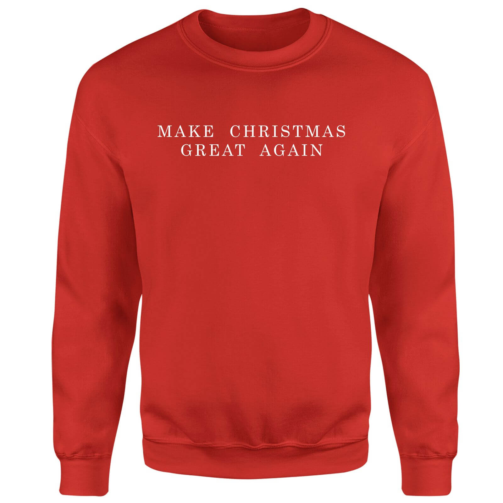 Make Christmas Great Again Sweatshirt - Red