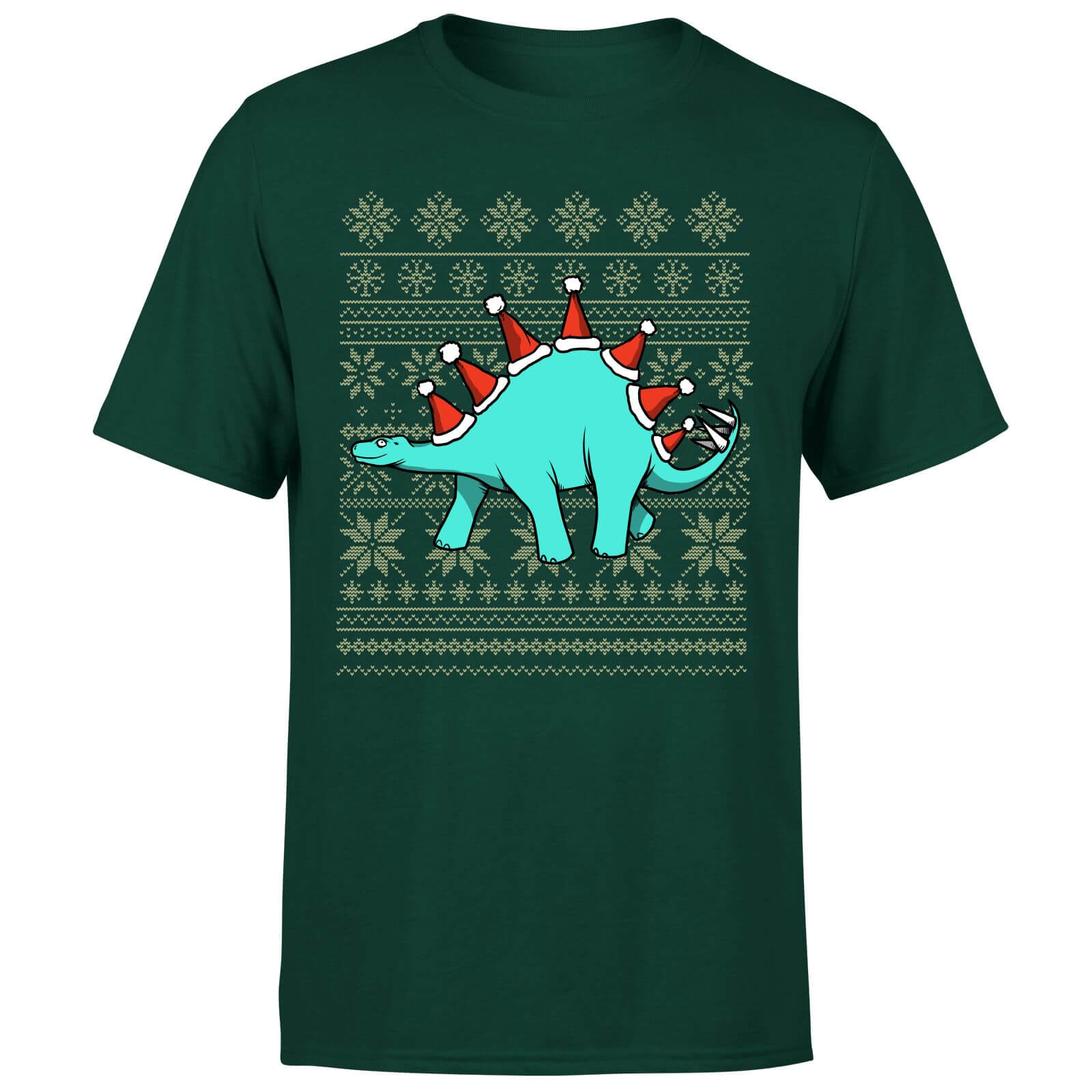 Stegosantahats T-Shirt - Forest Green