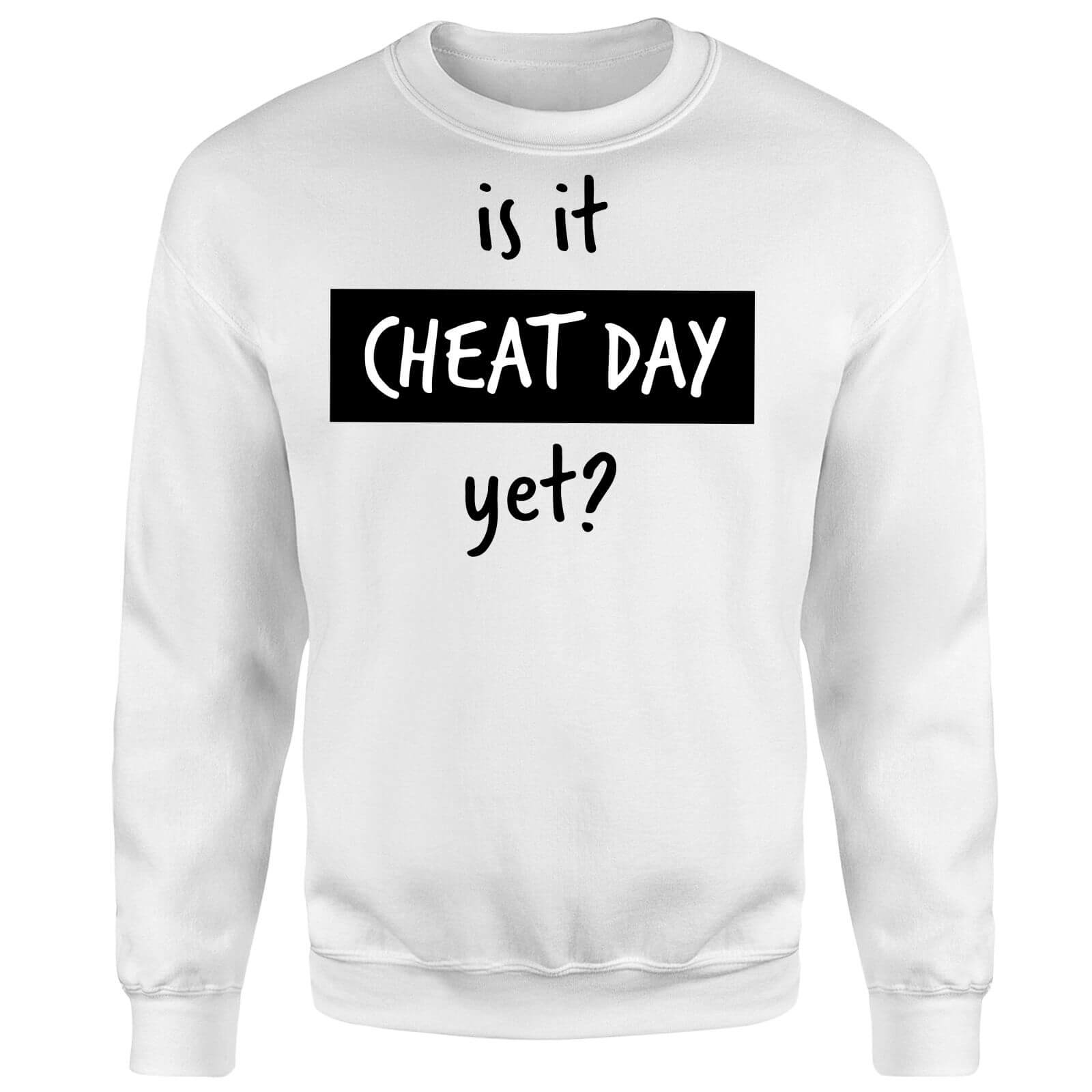 Is it Cheat Day Sweatshirt - White