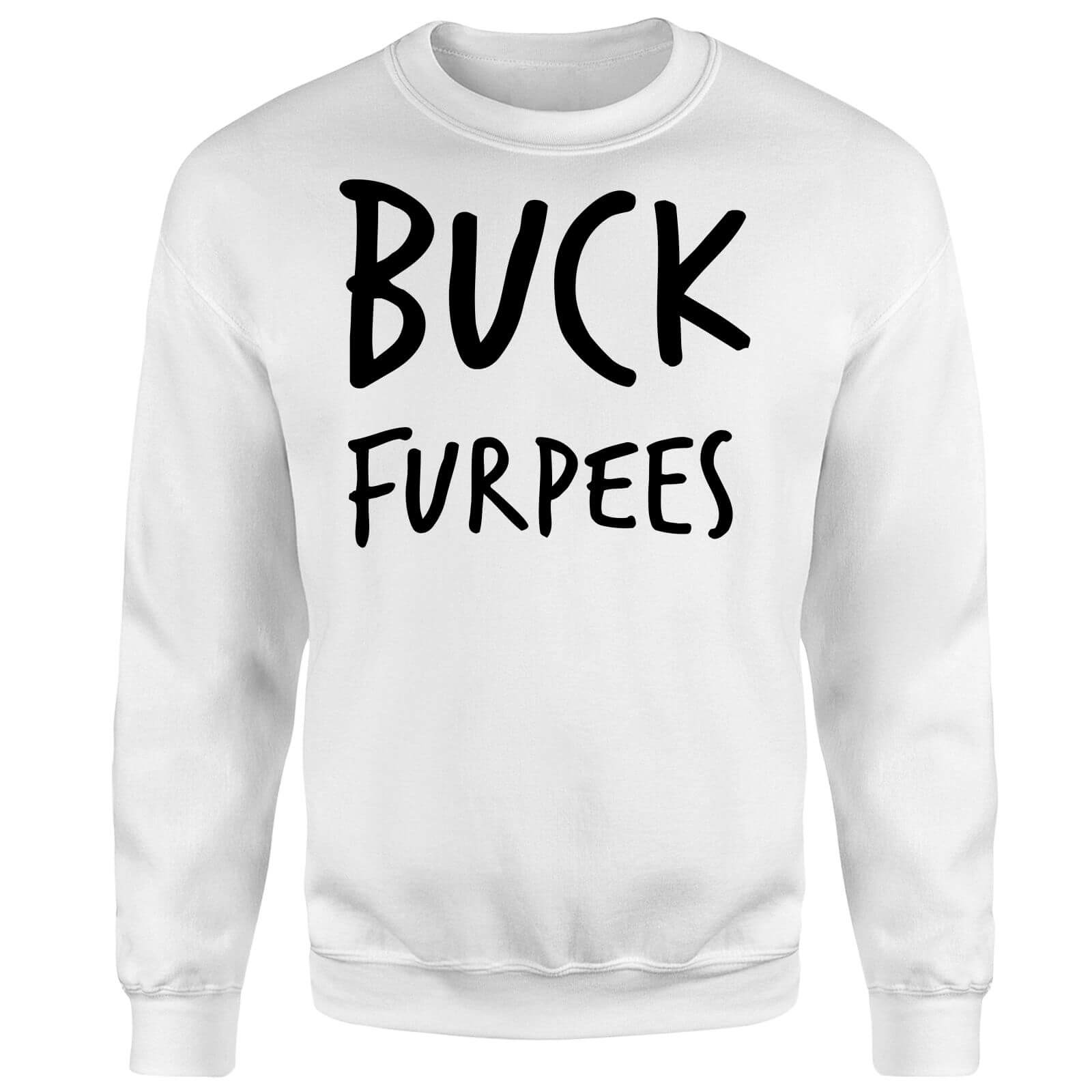 Buck Furpees Sweatshirt - White