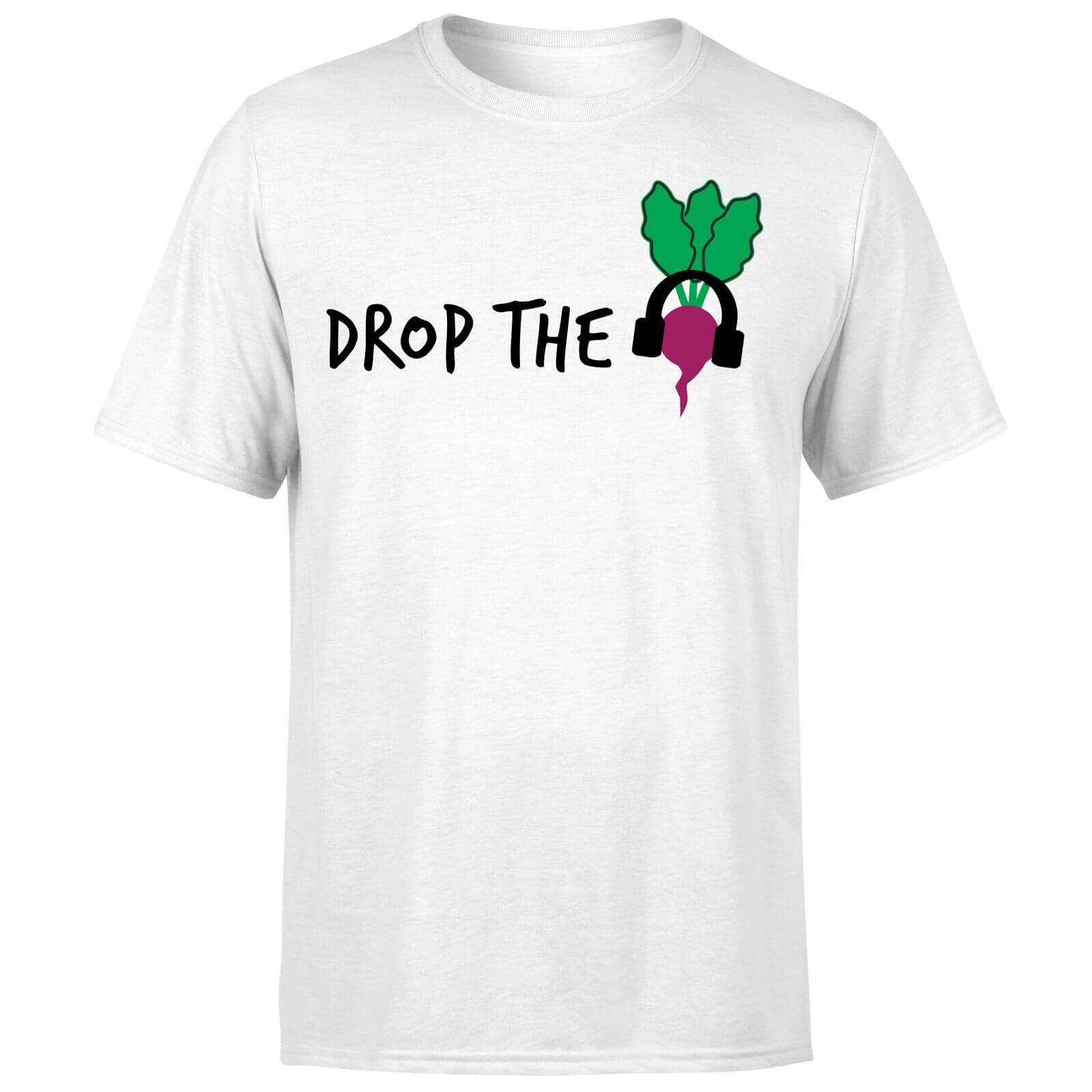 Drop the Beet T-Shirt - White