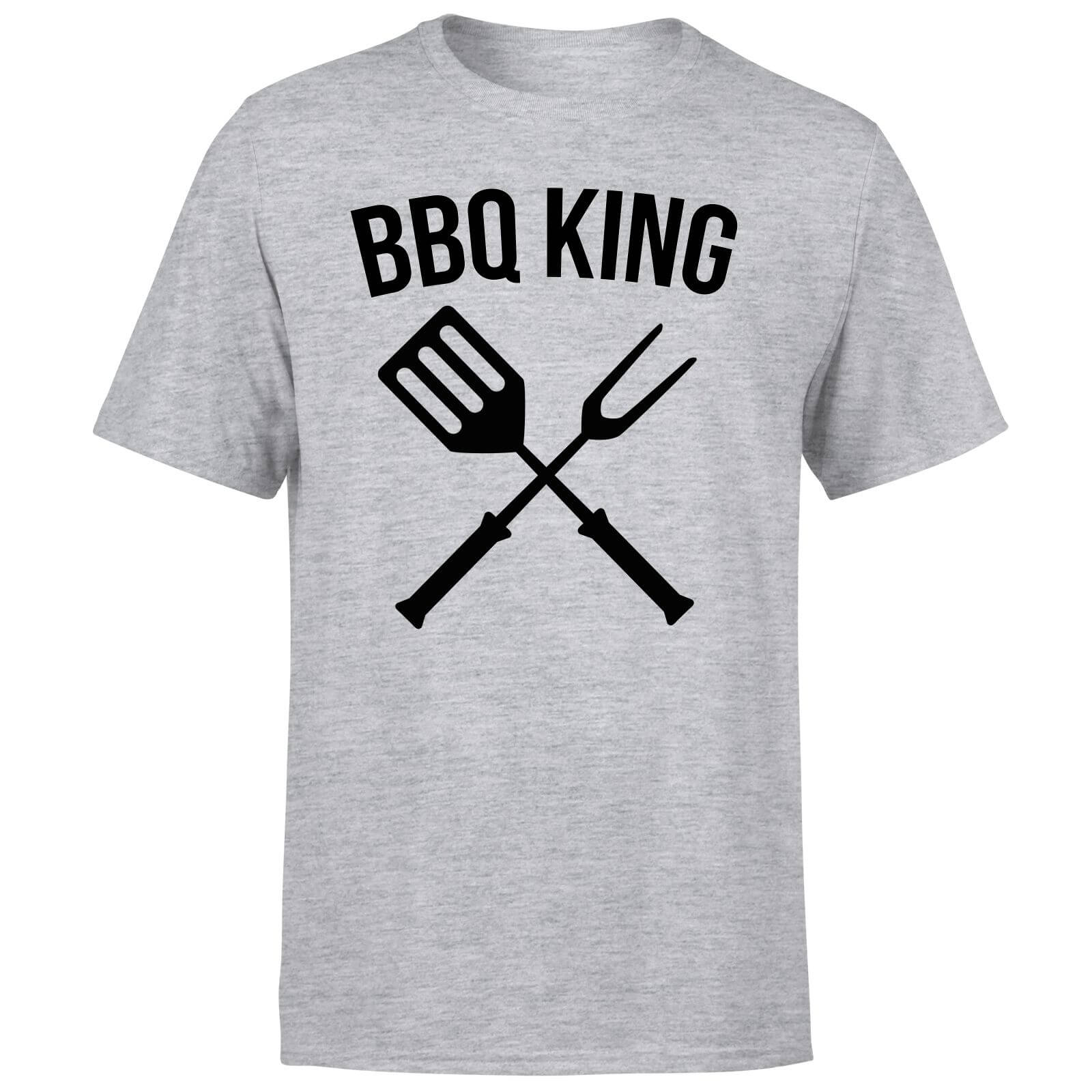 BBQ King T-Shirt - Grey