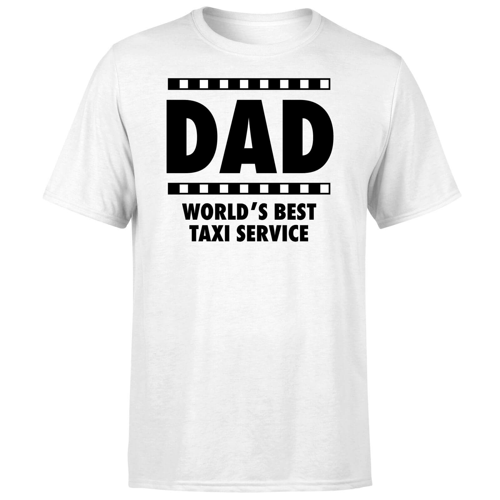 Dad Taxi Service T-Shirt - White
