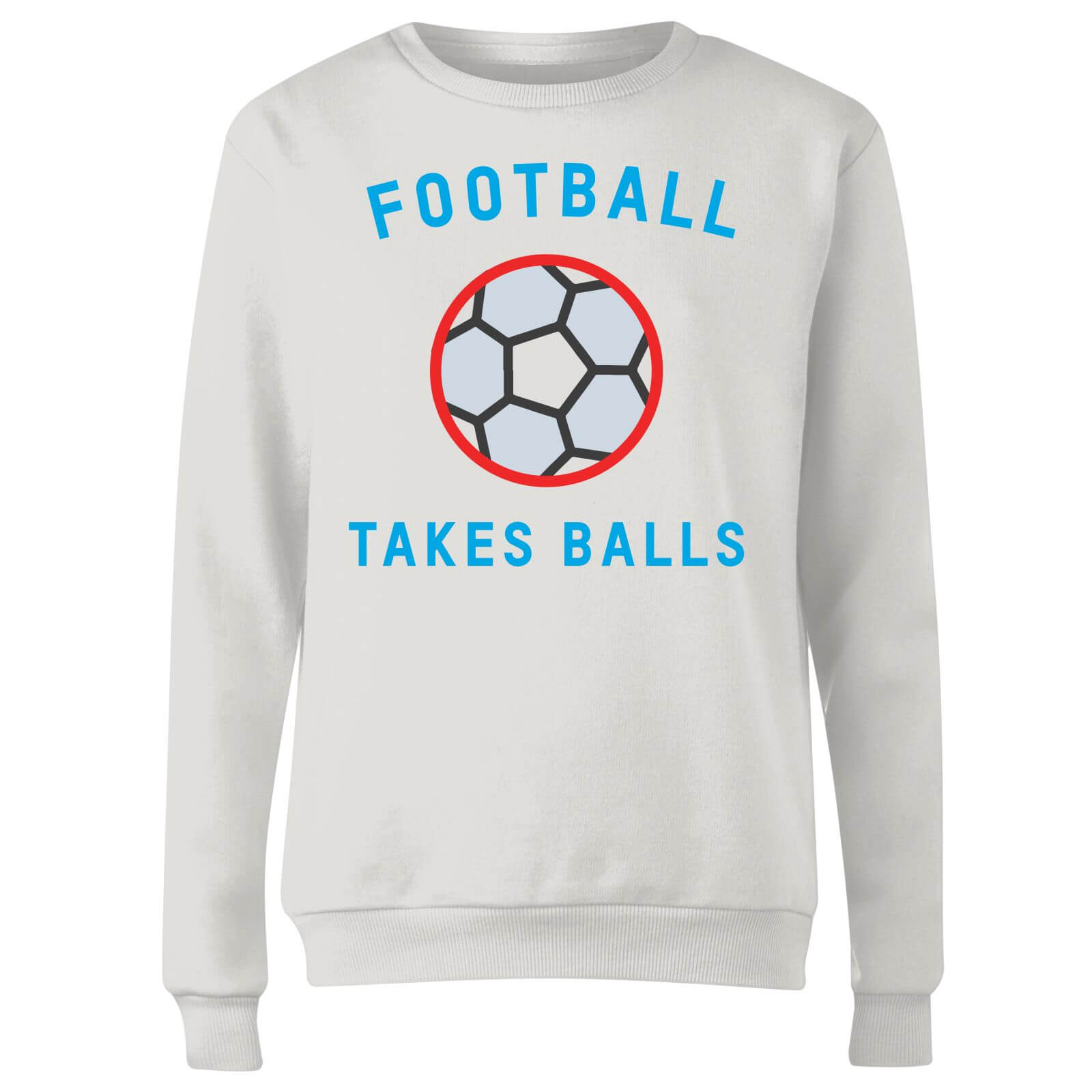 Football Takes Balls Women