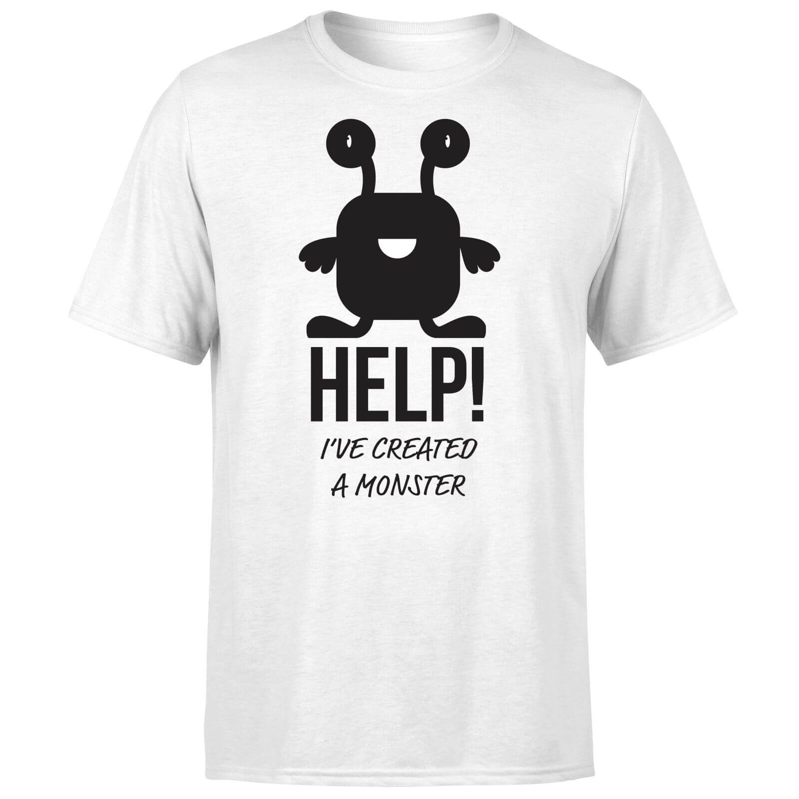 HELP Ive Created a Monster T-Shirt - White