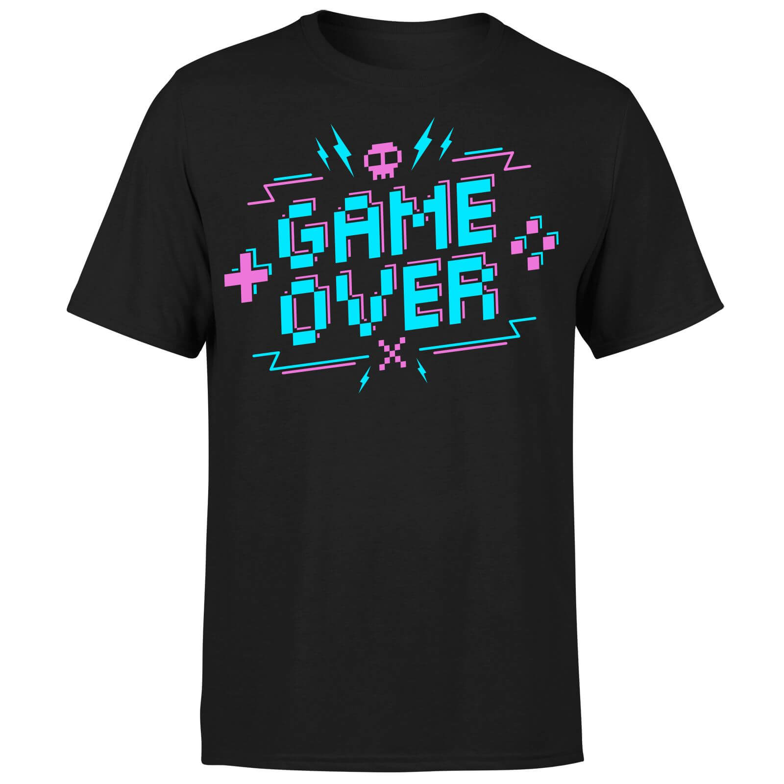 Game Over Gaming T-Shirt - Black