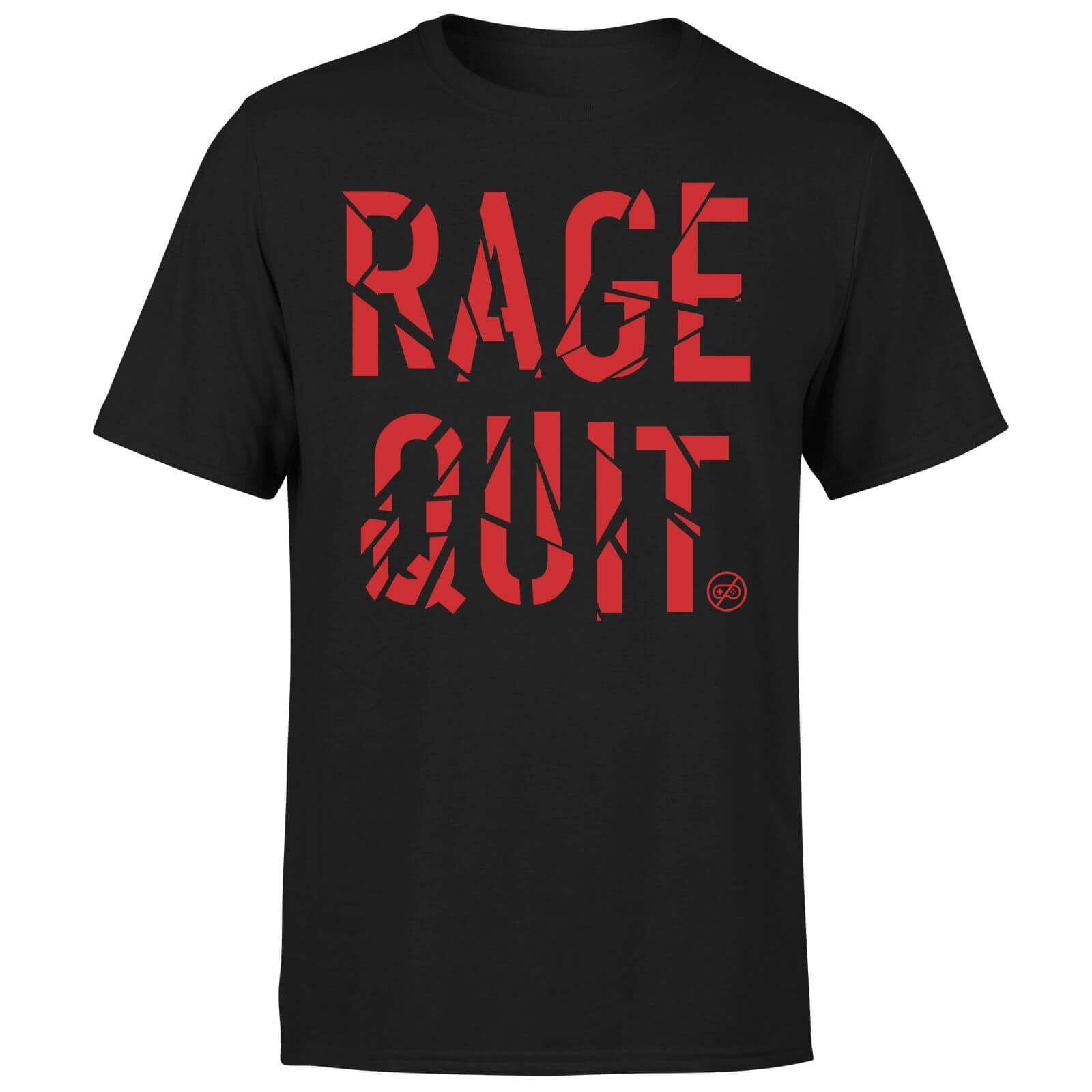 Rage Quit T-Shirt - Black