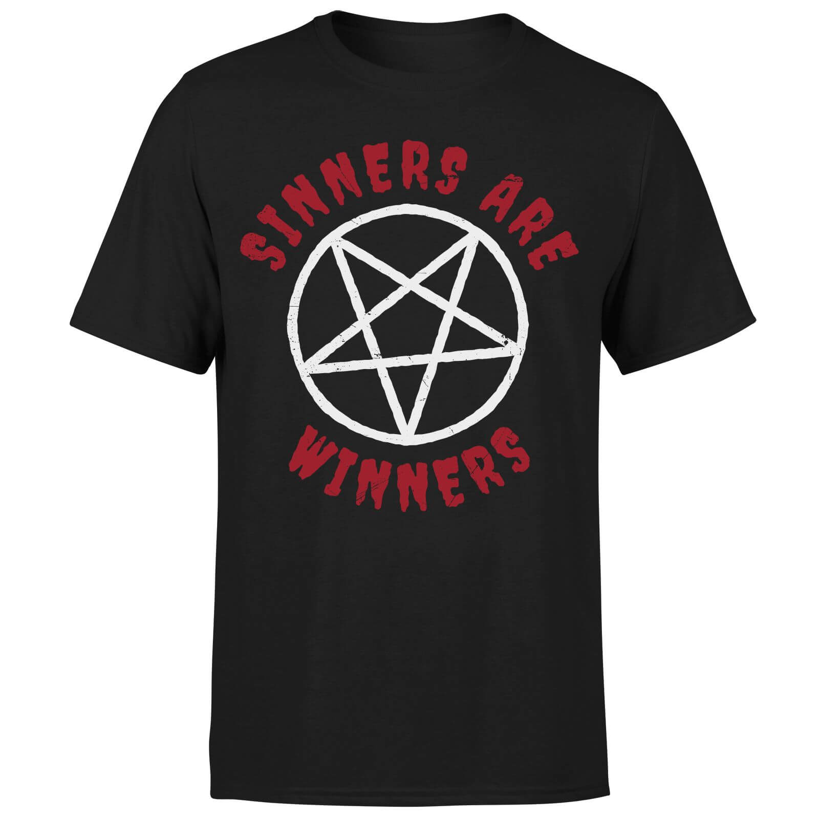 Sinners are Winners T-Shirt - Black