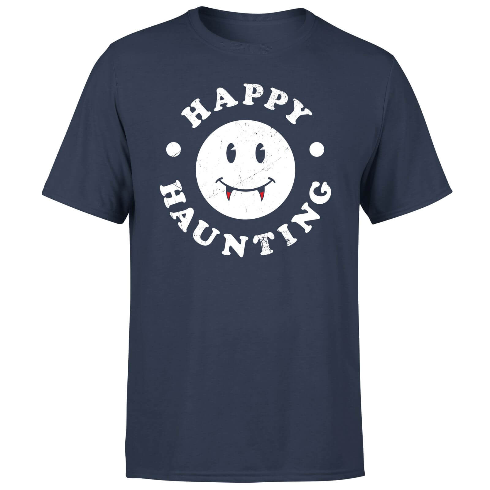 Happy Haunting T-Shirt - Navy