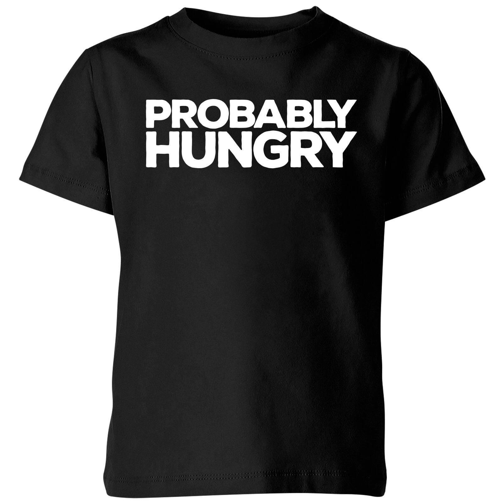 Probably Hungry Kids T-Shirt - Black