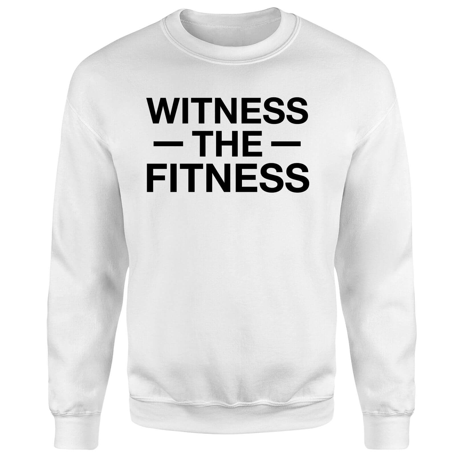 Witness the Fitness Sweatshirt - White