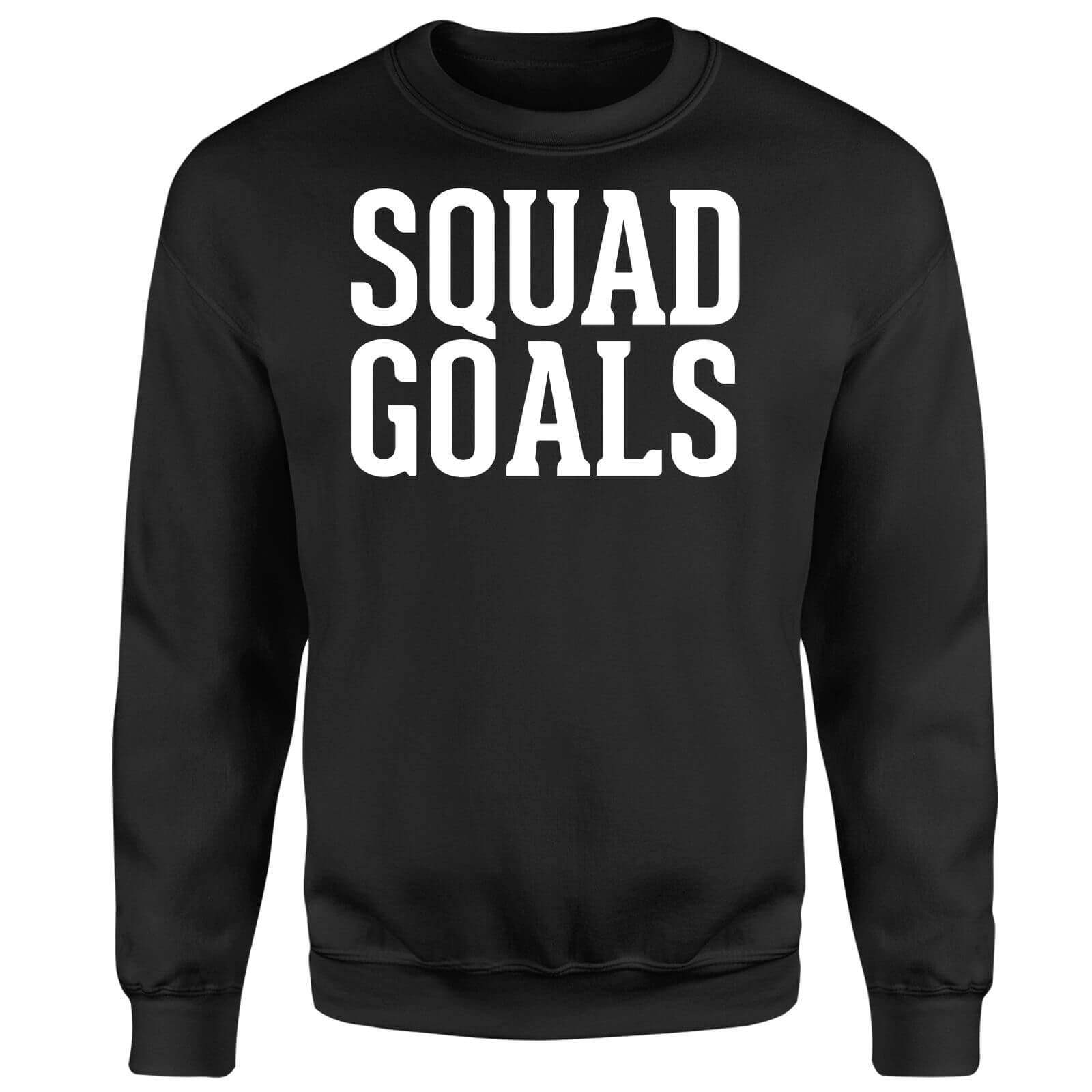 Squad Goals Sweatshirt - Black