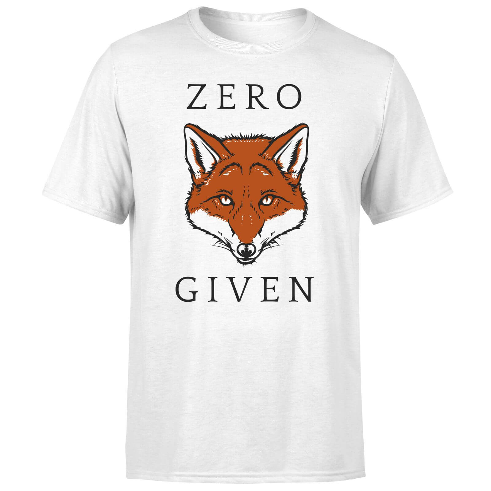 55f3fe1e2 Zero Fox Given T-Shirt - White | IWOOT