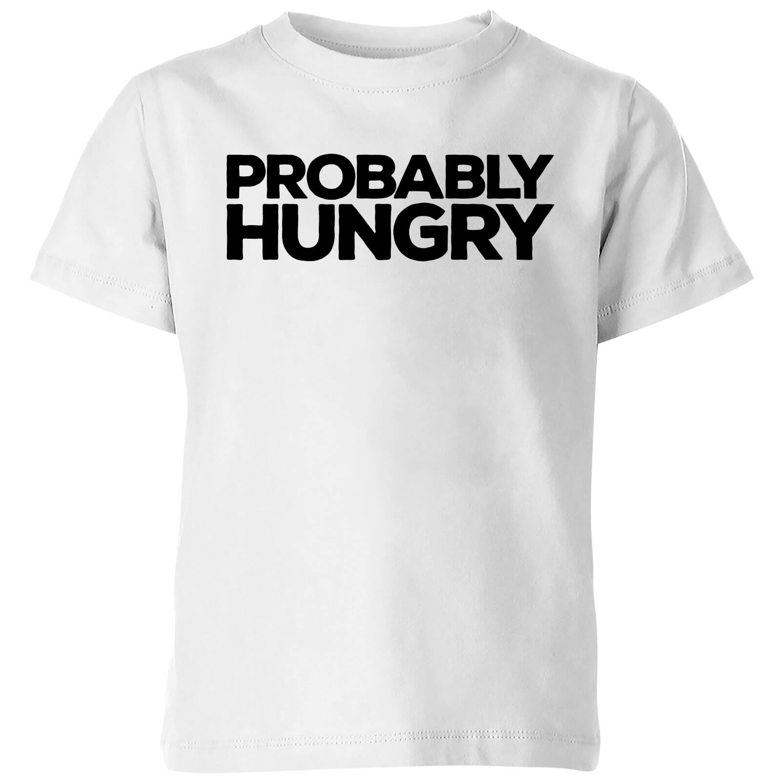 Probably Hungry Kids T-Shirt - White