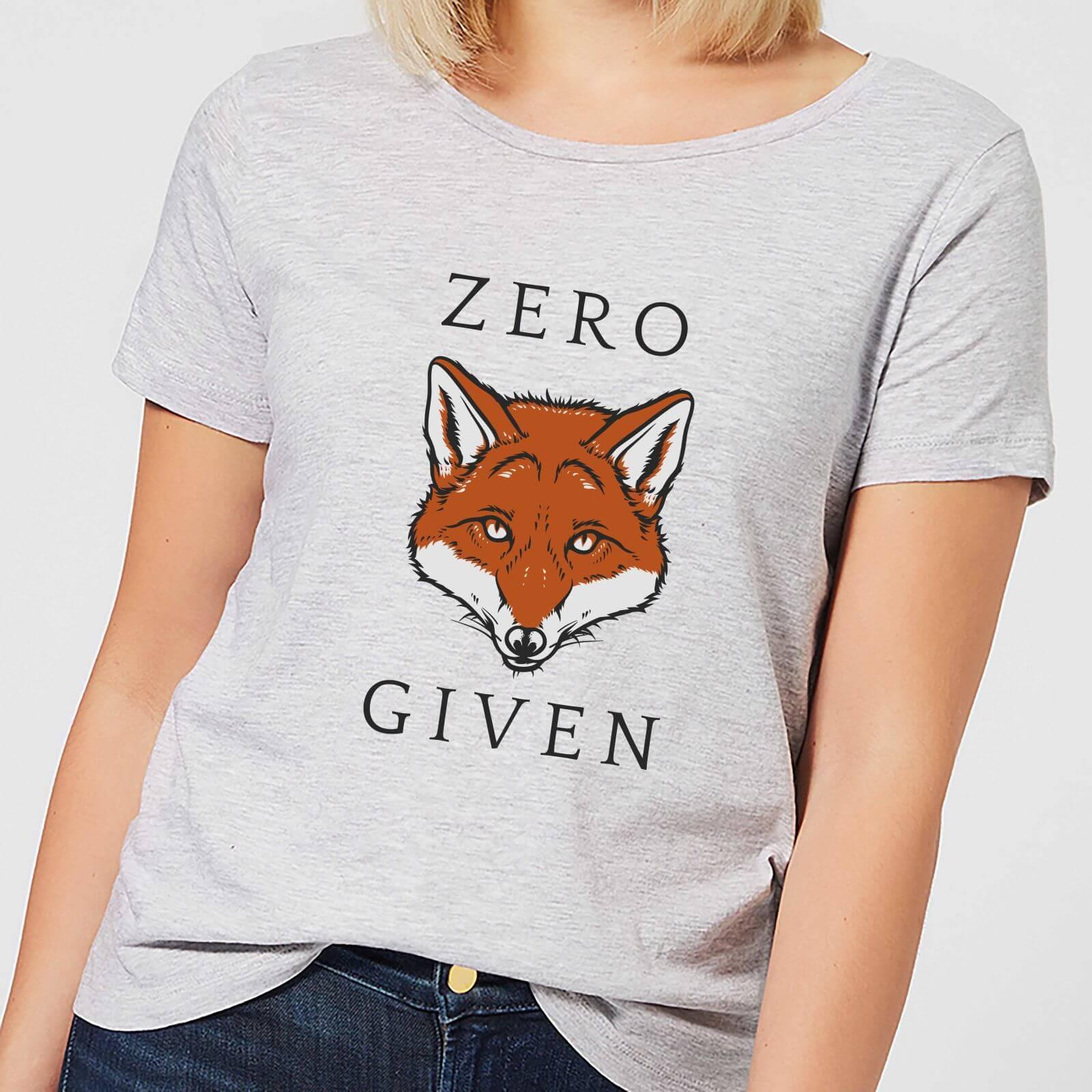 88ee17463 Zero Fox Given Women's T-Shirt - Grey | IWOOT