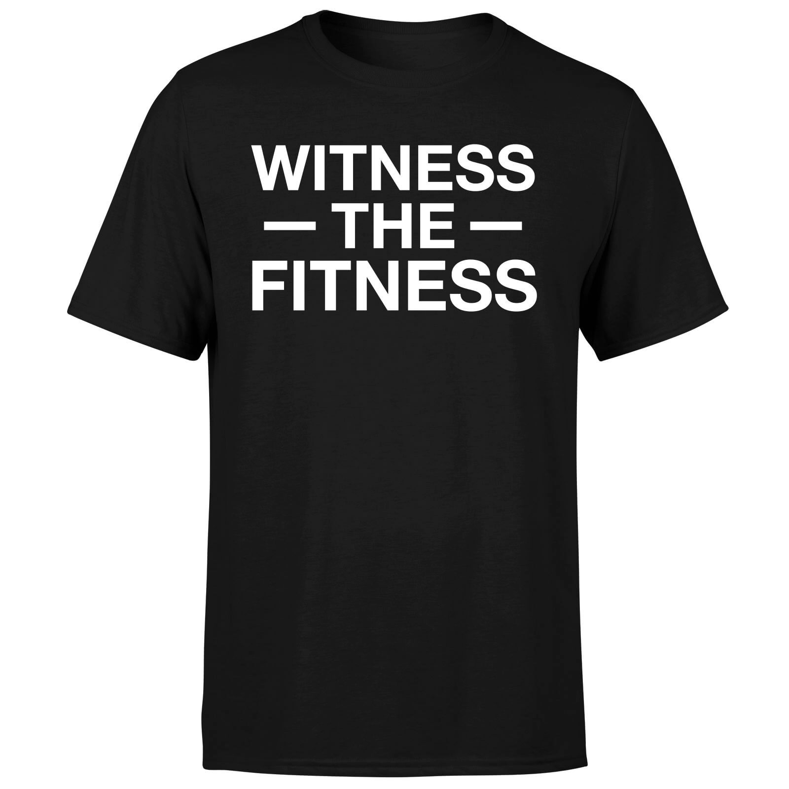 Witness the Fitness T-Shirt - Black