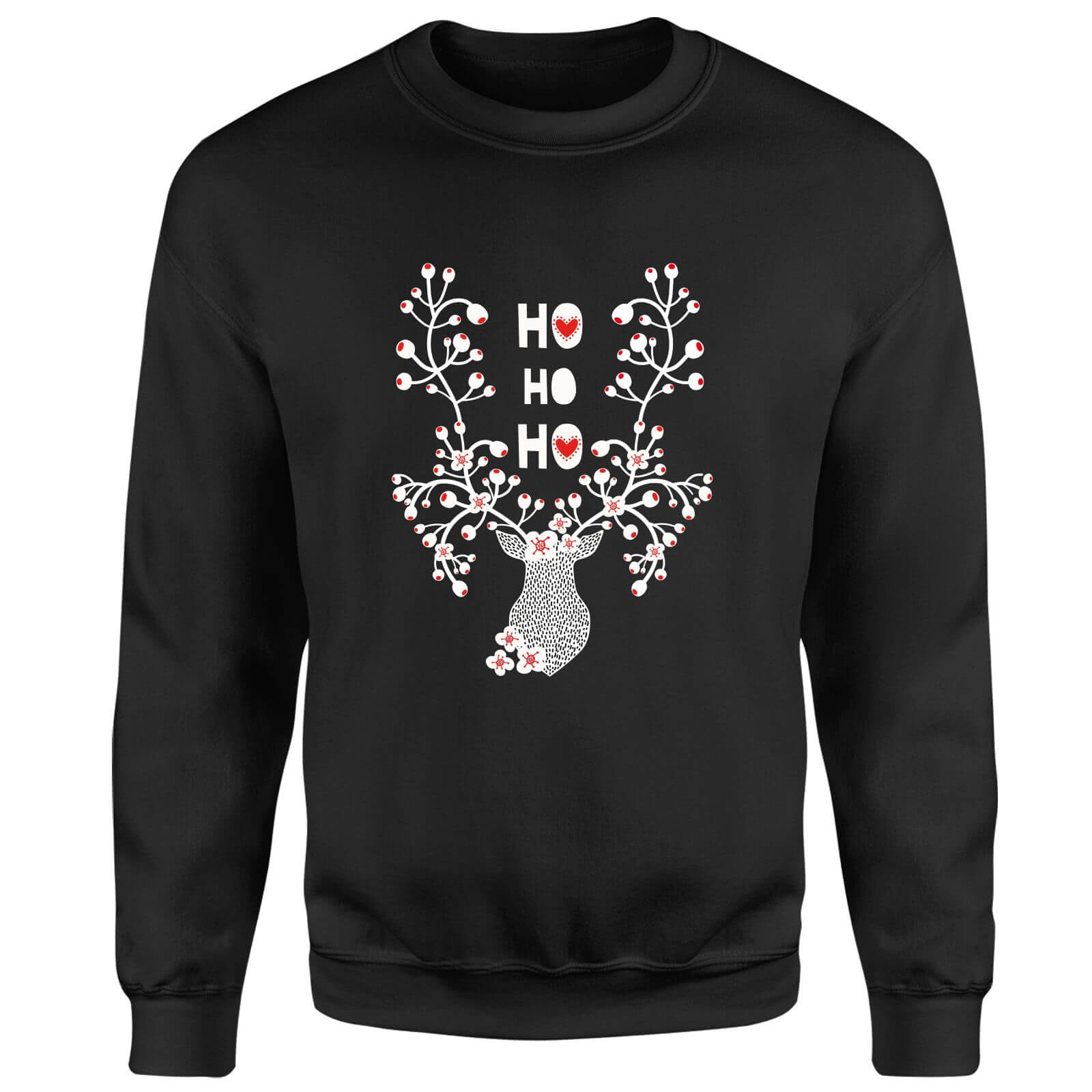 Ho Ho Ho Sweatshirt - Black