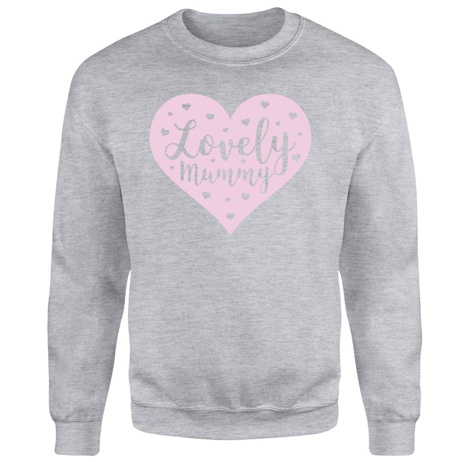 Lovely Mummy Sweatshirt - Grey