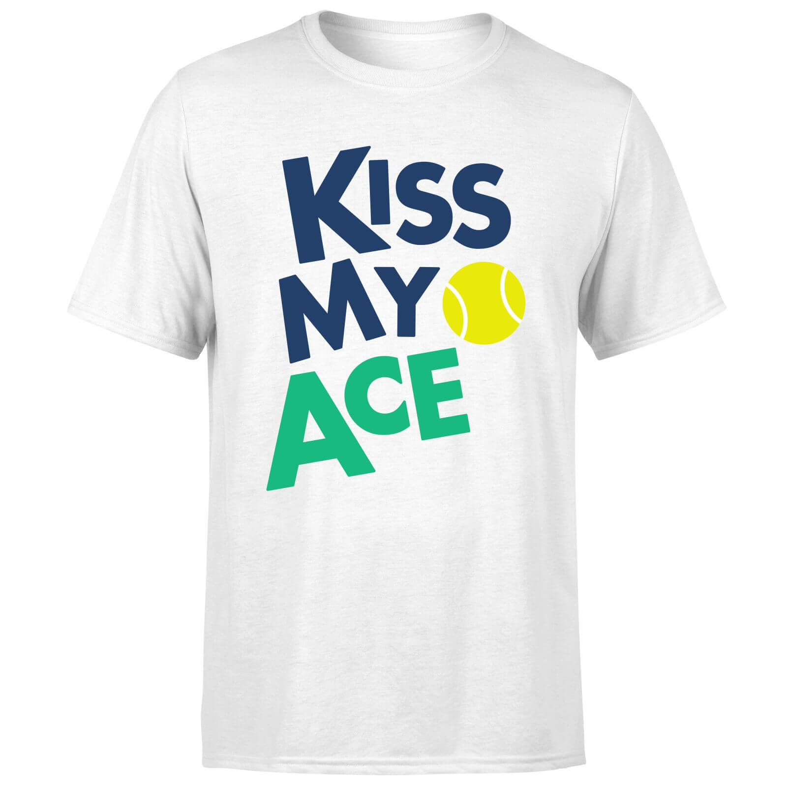 Kiss my Ace T-Shirt - White