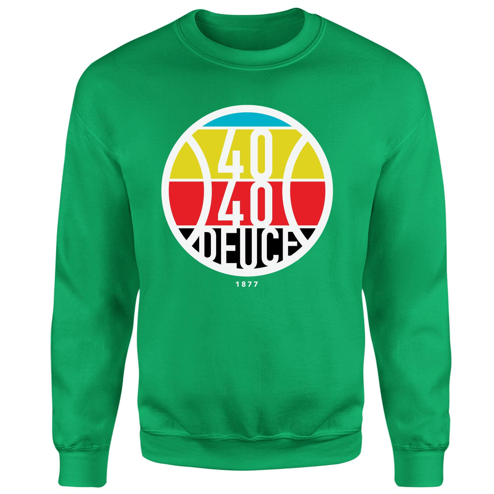 40 40 Deuce Sweatshirt - Kelly Green