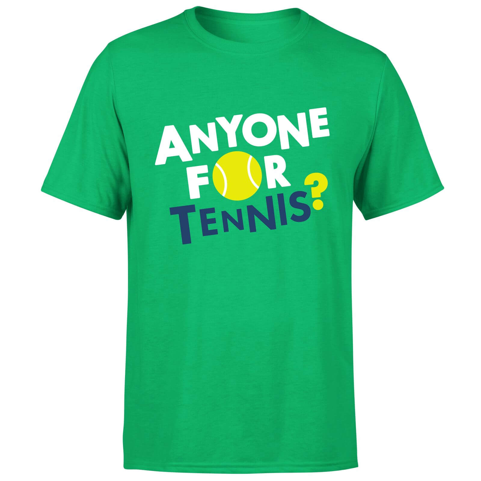 Anyone for Tennis T-Shirt - Kelly Green