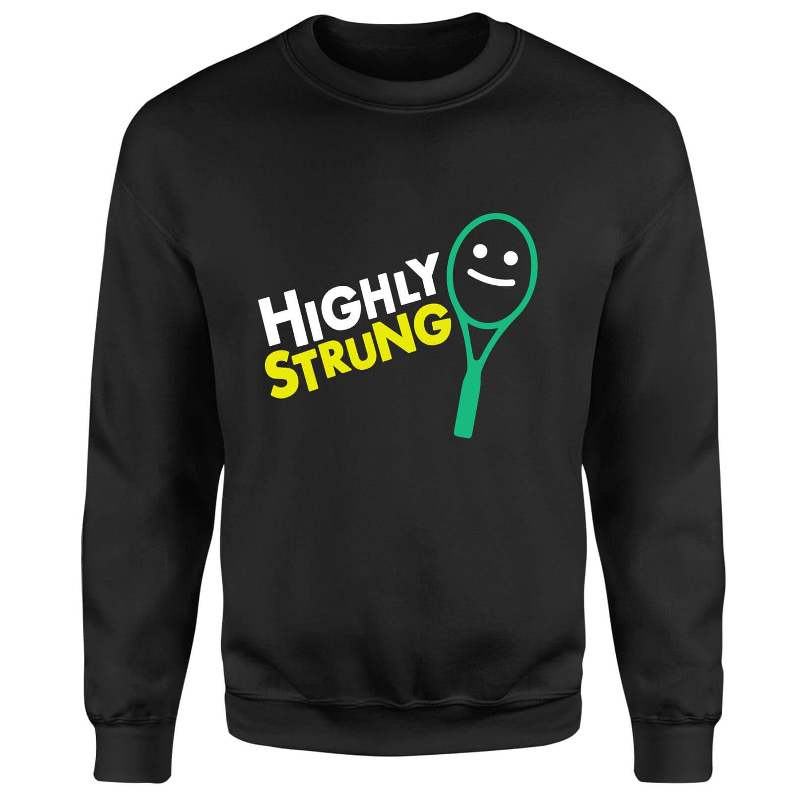 Highly Strung Sweatshirt - Black