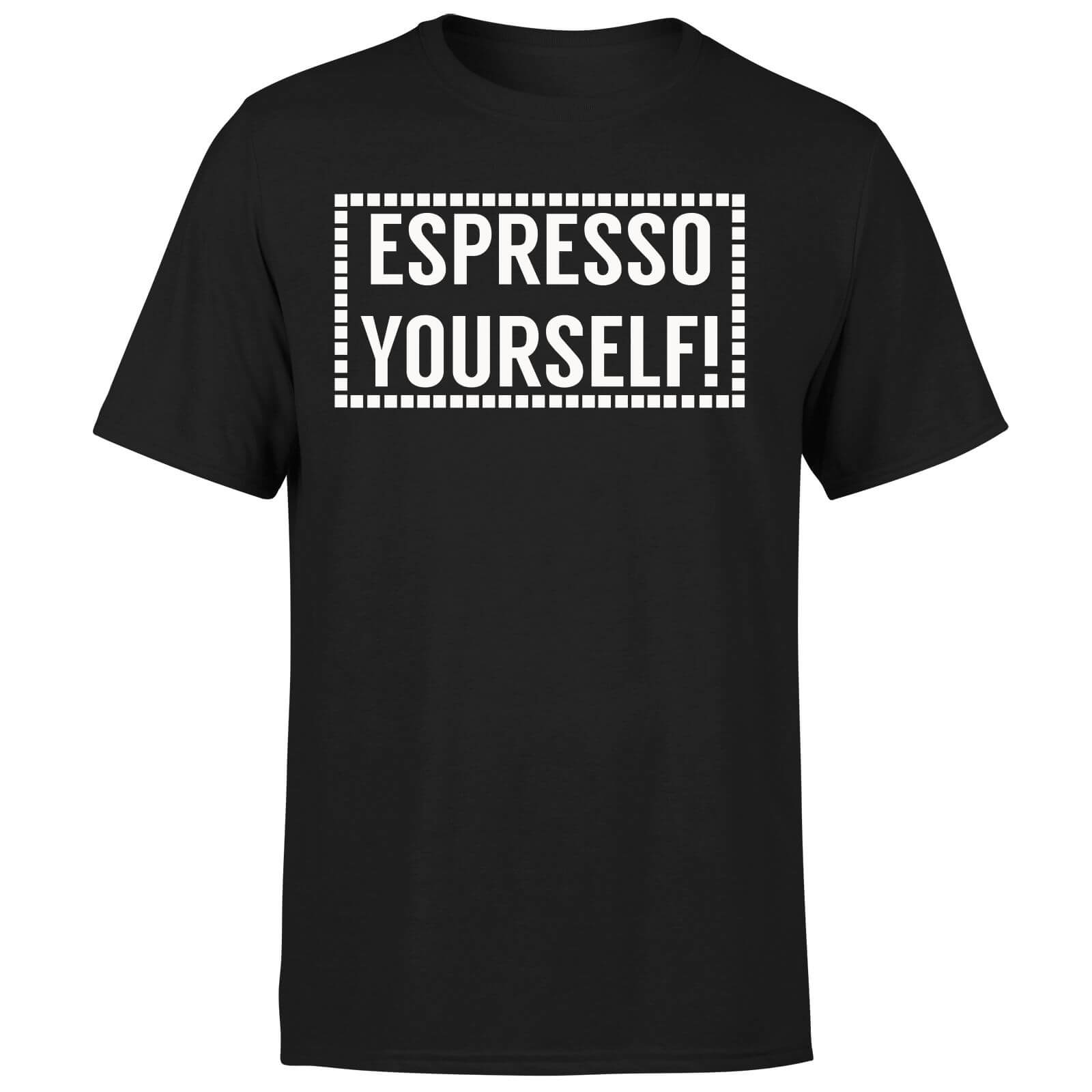 Expresso Yourself T-Shirt - Black