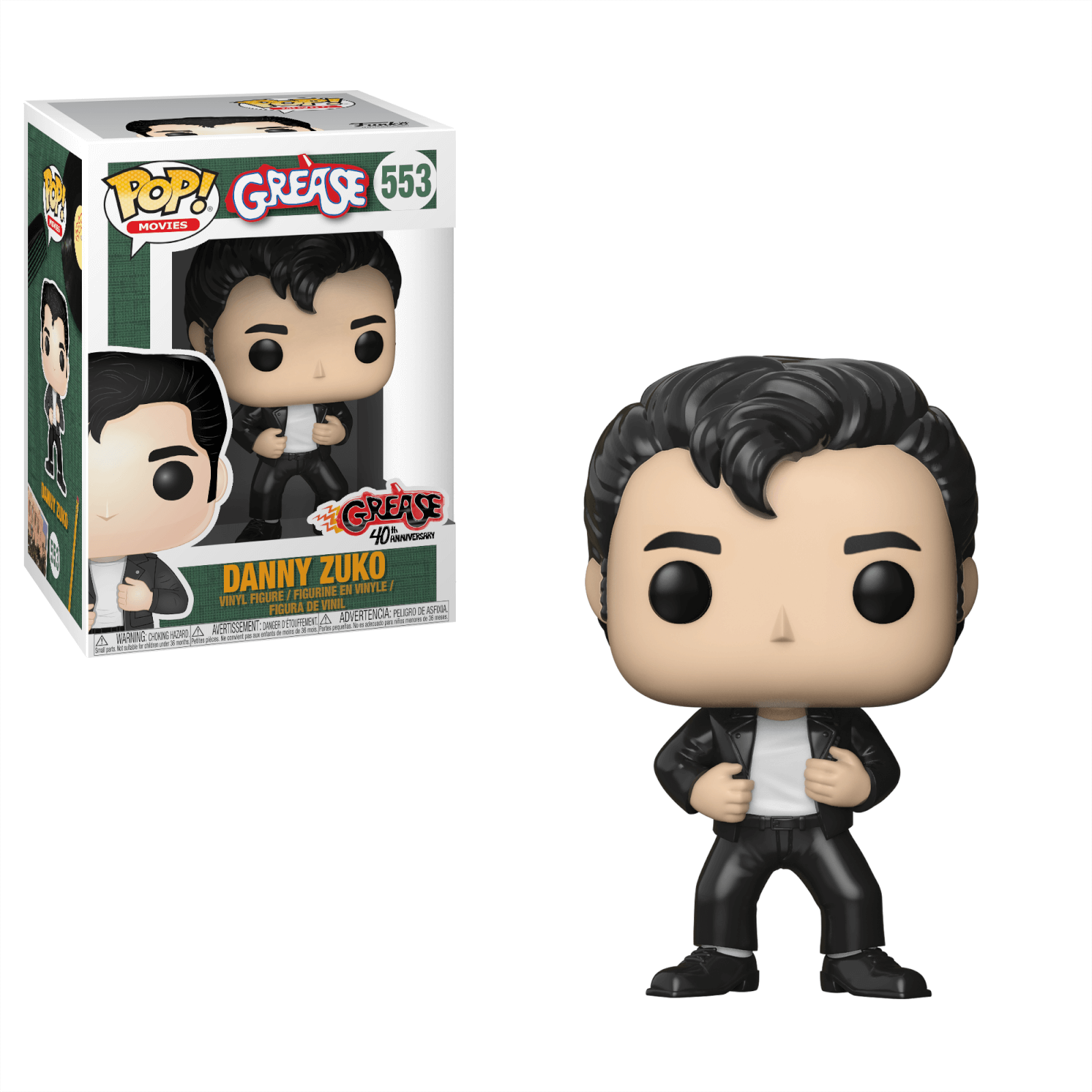Grease Danny Zuko Pop! Vinyl Figure