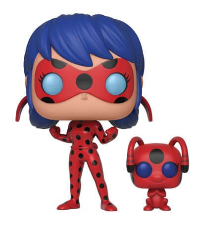 Miraculous Ladybug with Tikki and Buddy Pop! Vinyl Figure