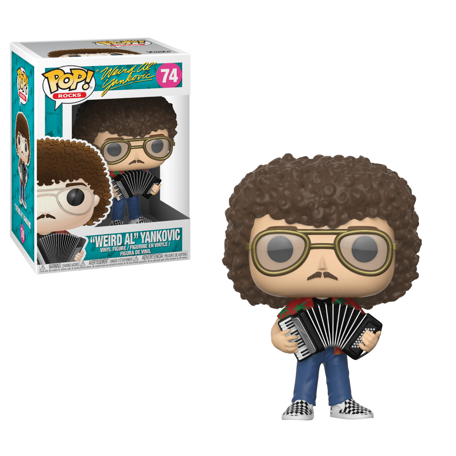 "Pop! Rocks """"Weird Al"""" Yankovic Pop! Vinyl Figure"