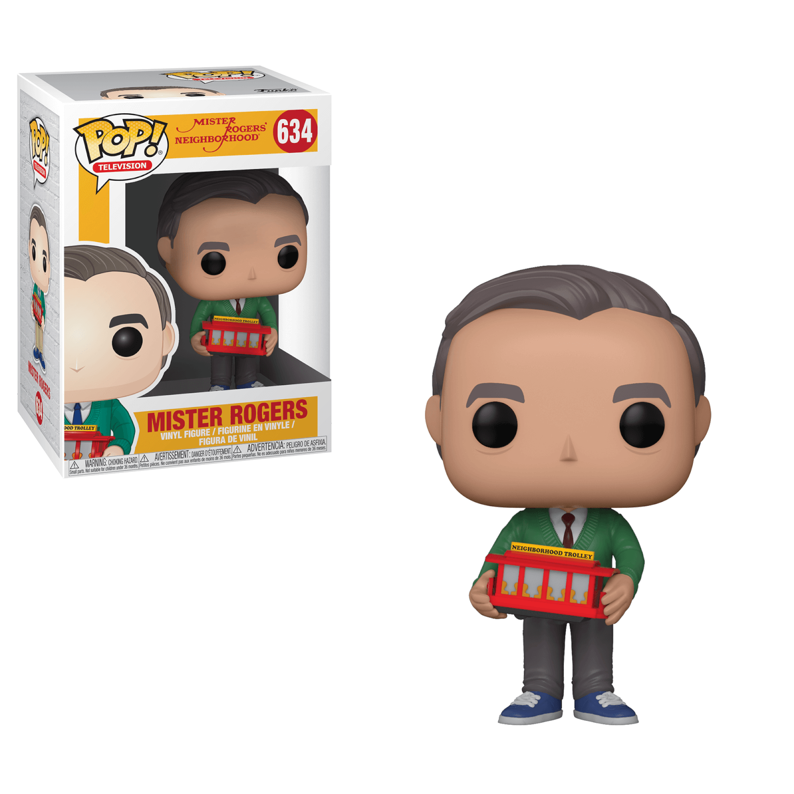 Mr Rogers Pop! Vinyl Figure