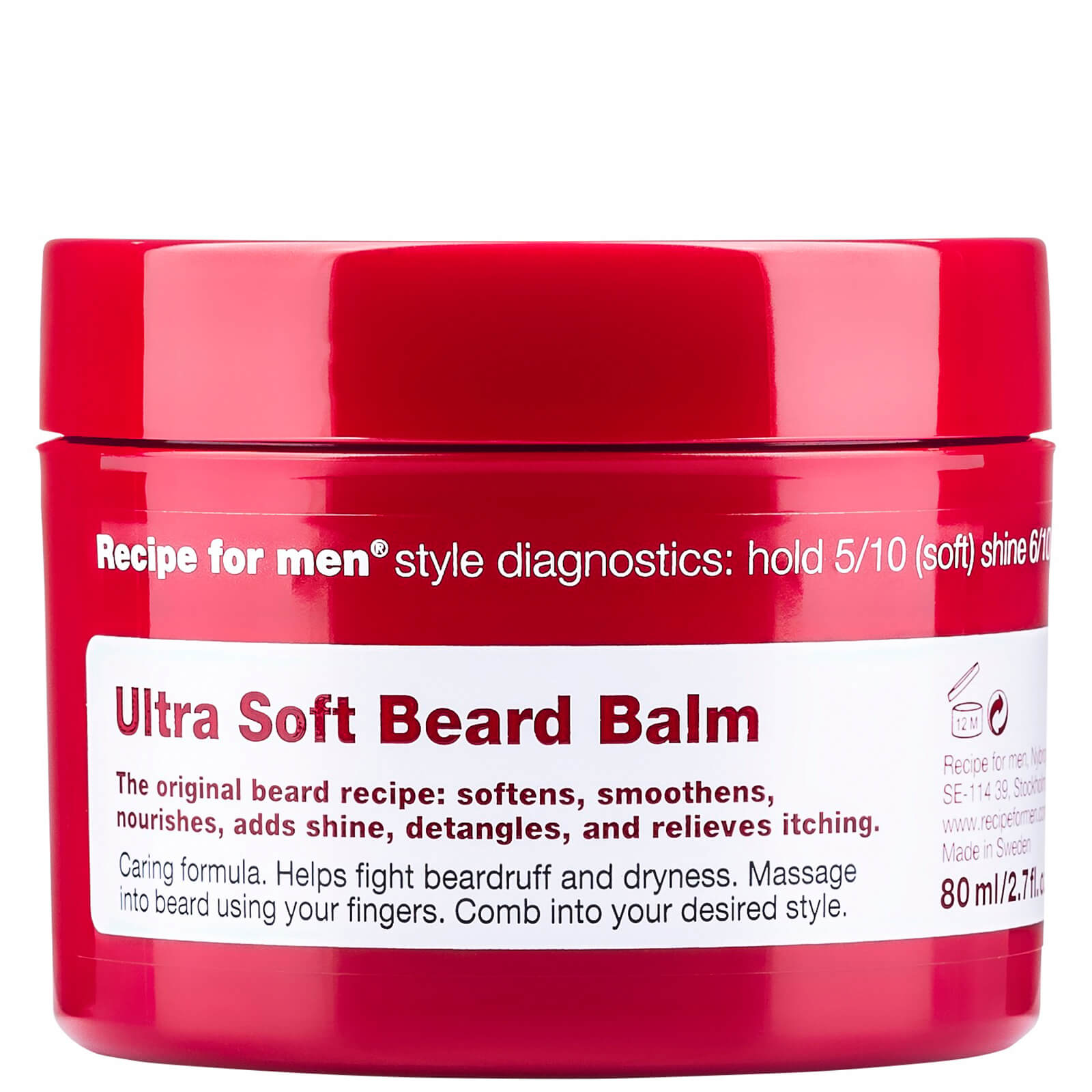Recipe for Men Ultra Soft Beard Balm 80ml