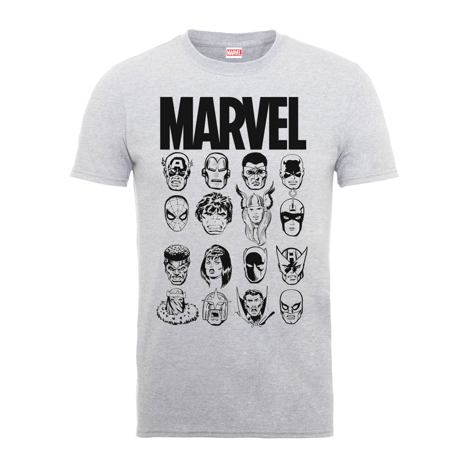 Marvel Multi Heads Men