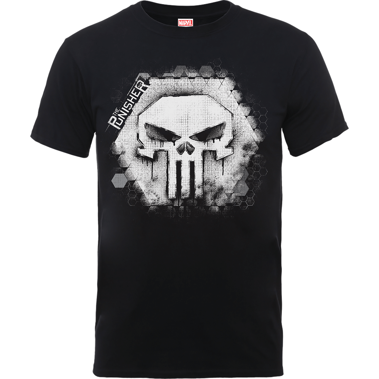 Marvel The Punisher Skull Badge Men