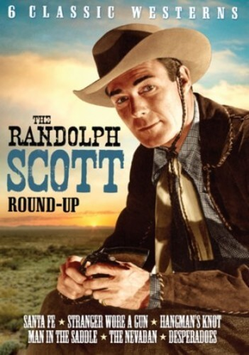 Randolph Scott Roundup Vol 2: 6 Films