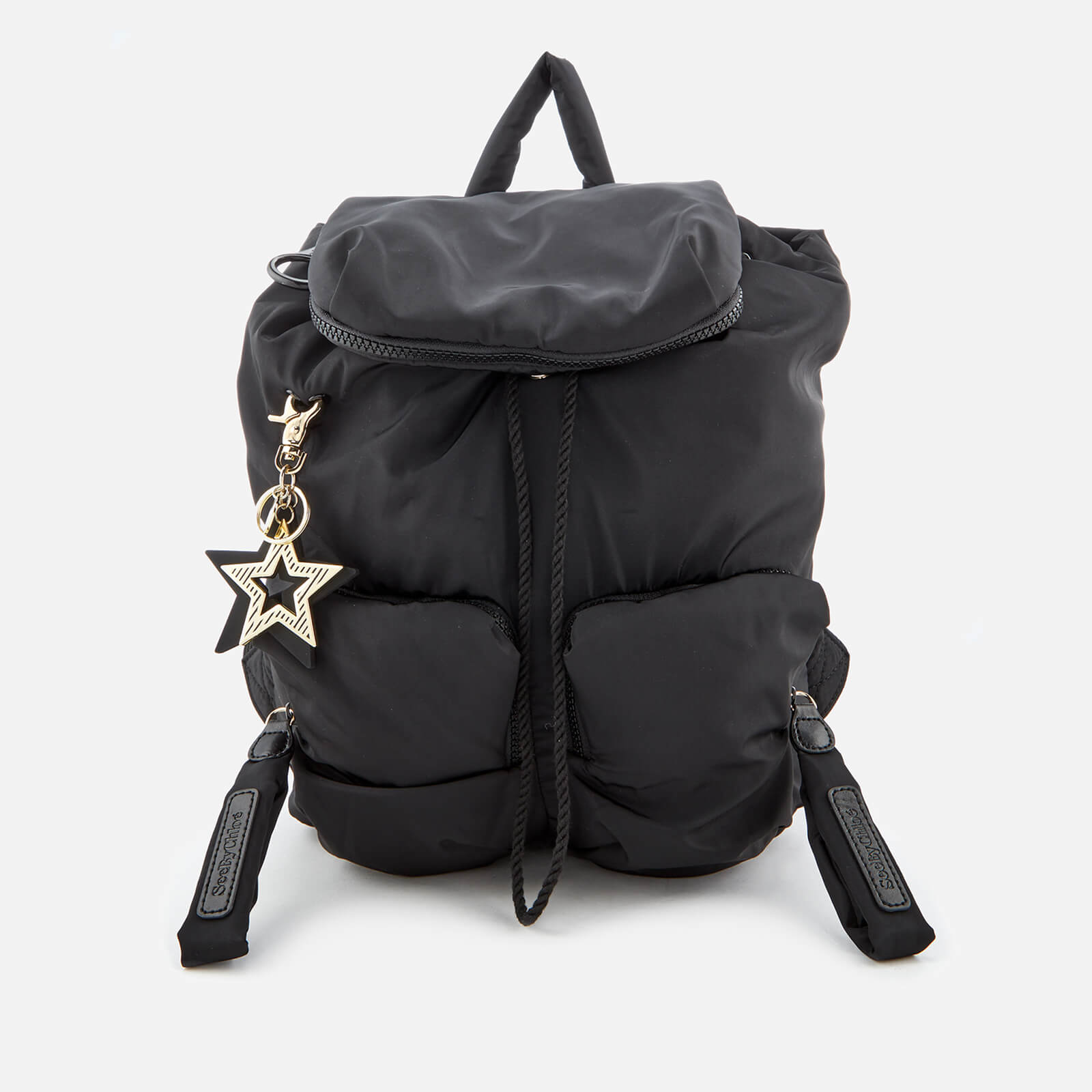8dfb58fa See By Chloé Women's Joy Rider Nylon Backpack - Black