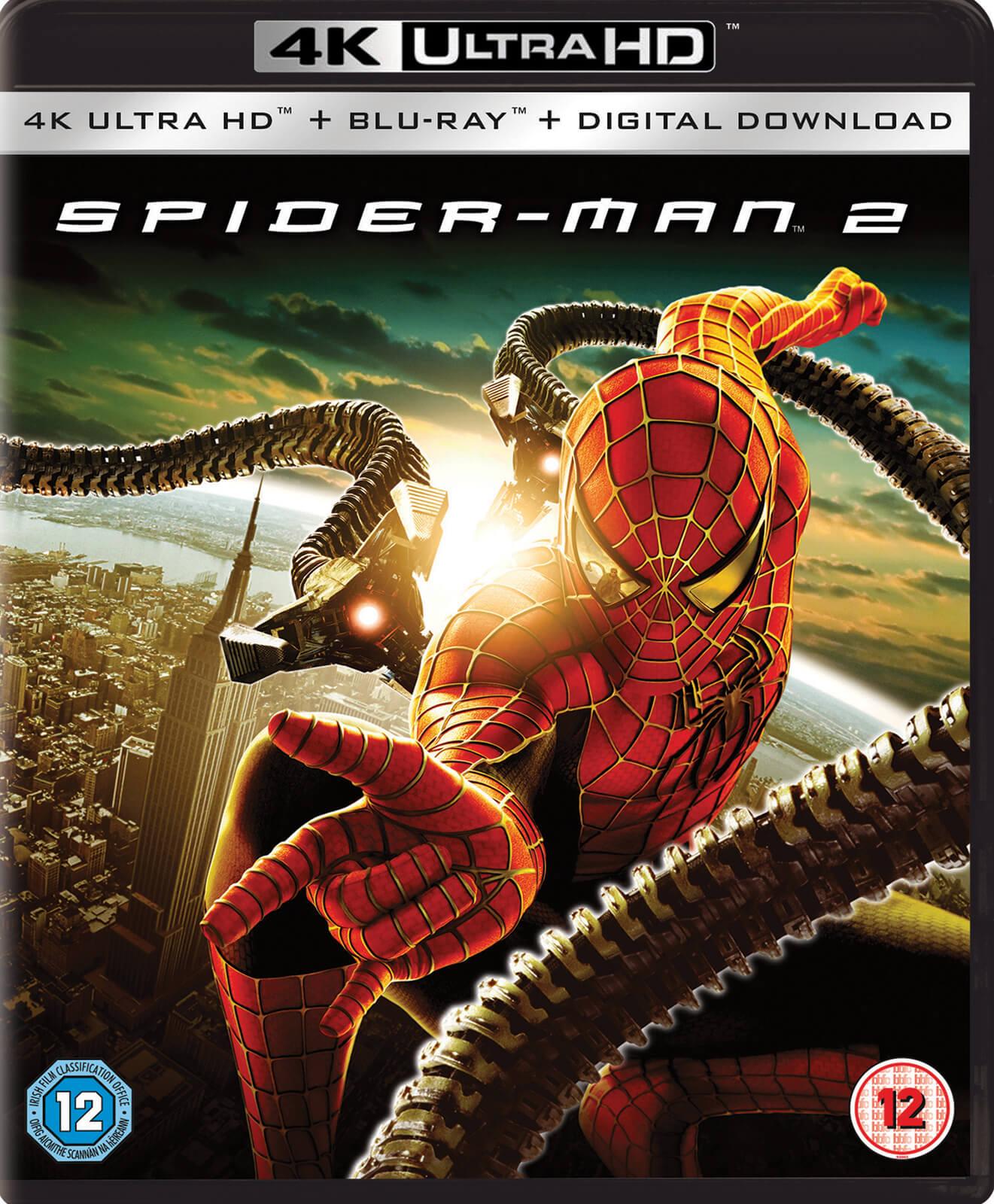 spider-man 2 (2004) - 4k ultra hd blu-ray | zavvi australia