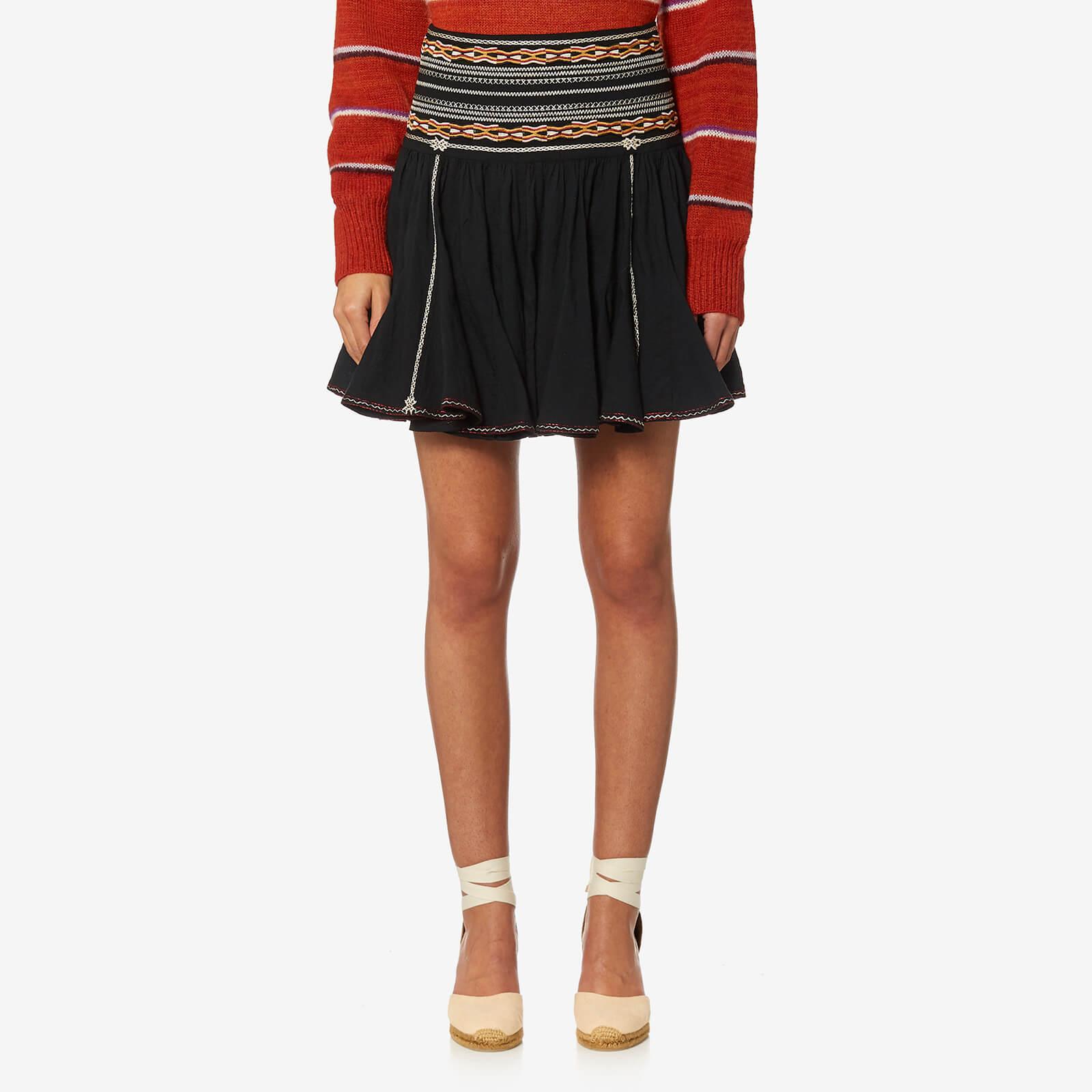 6fac22e46 Isabel Marant Etoile Women's Breeda Skirt - Black - Free UK Delivery over  £50