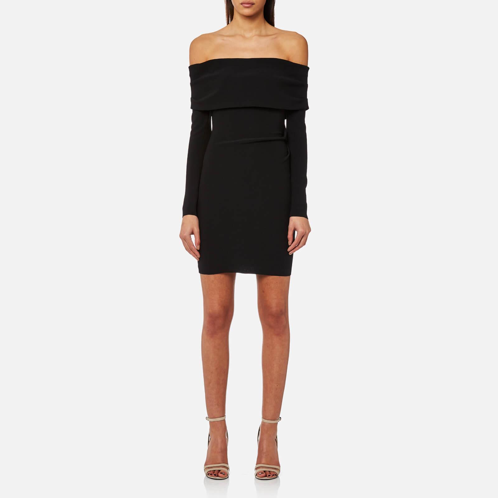 8d36e5c1e24f Bec & Bridge Women's Auriele Off the Shoulder Dress - Black - Free UK  Delivery over £50