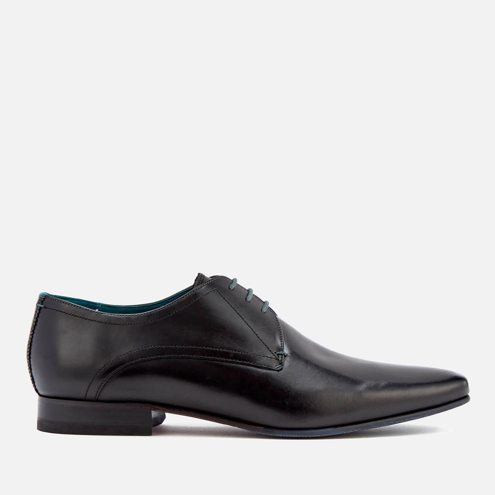 e6c0552471af Ted Baker Men s Bhartli Leater Derby Shoes - Black Clothing