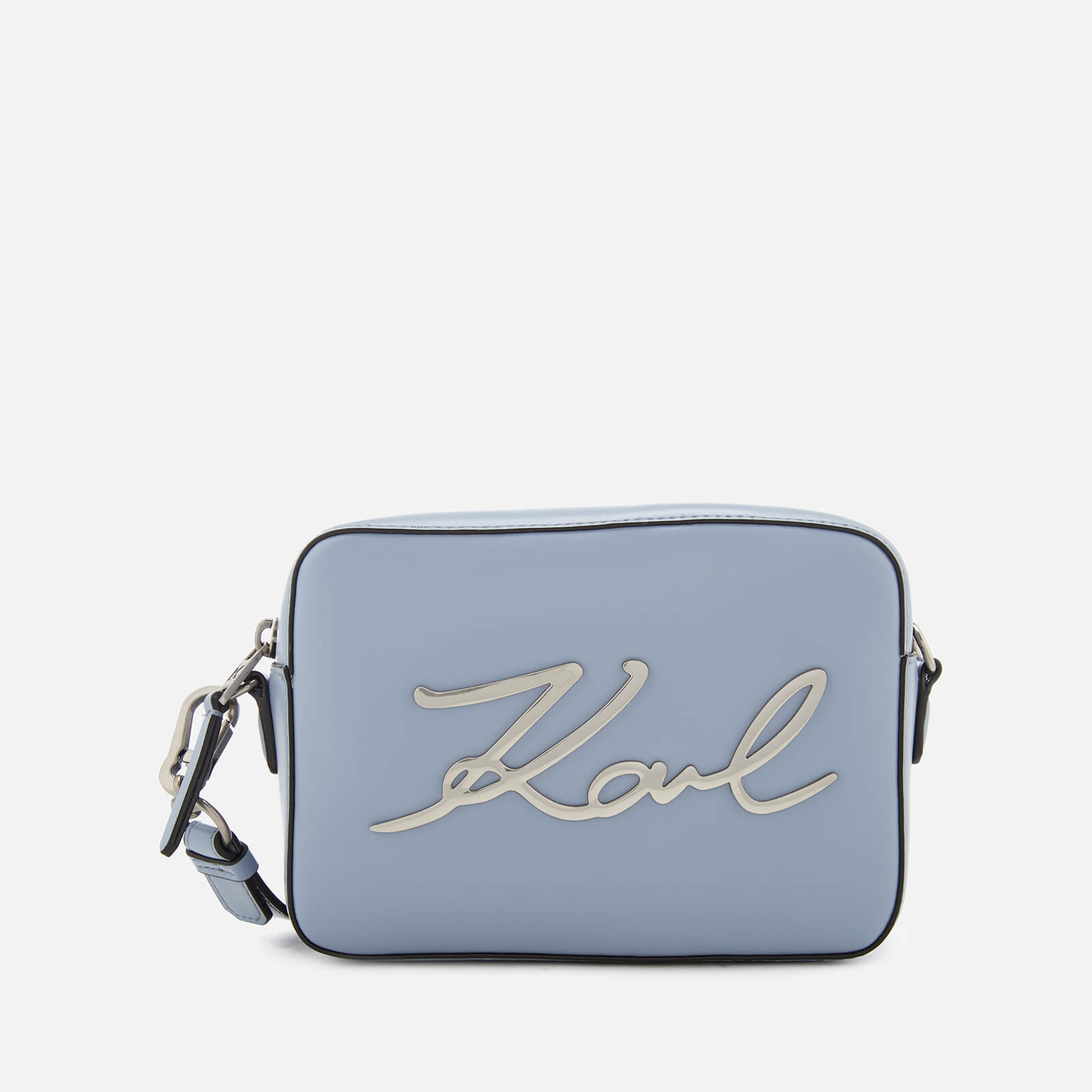 2562d22a686a Karl Lagerfeld Women s K Signature Camera Bag - Mistic Blue - Free UK  Delivery over £50