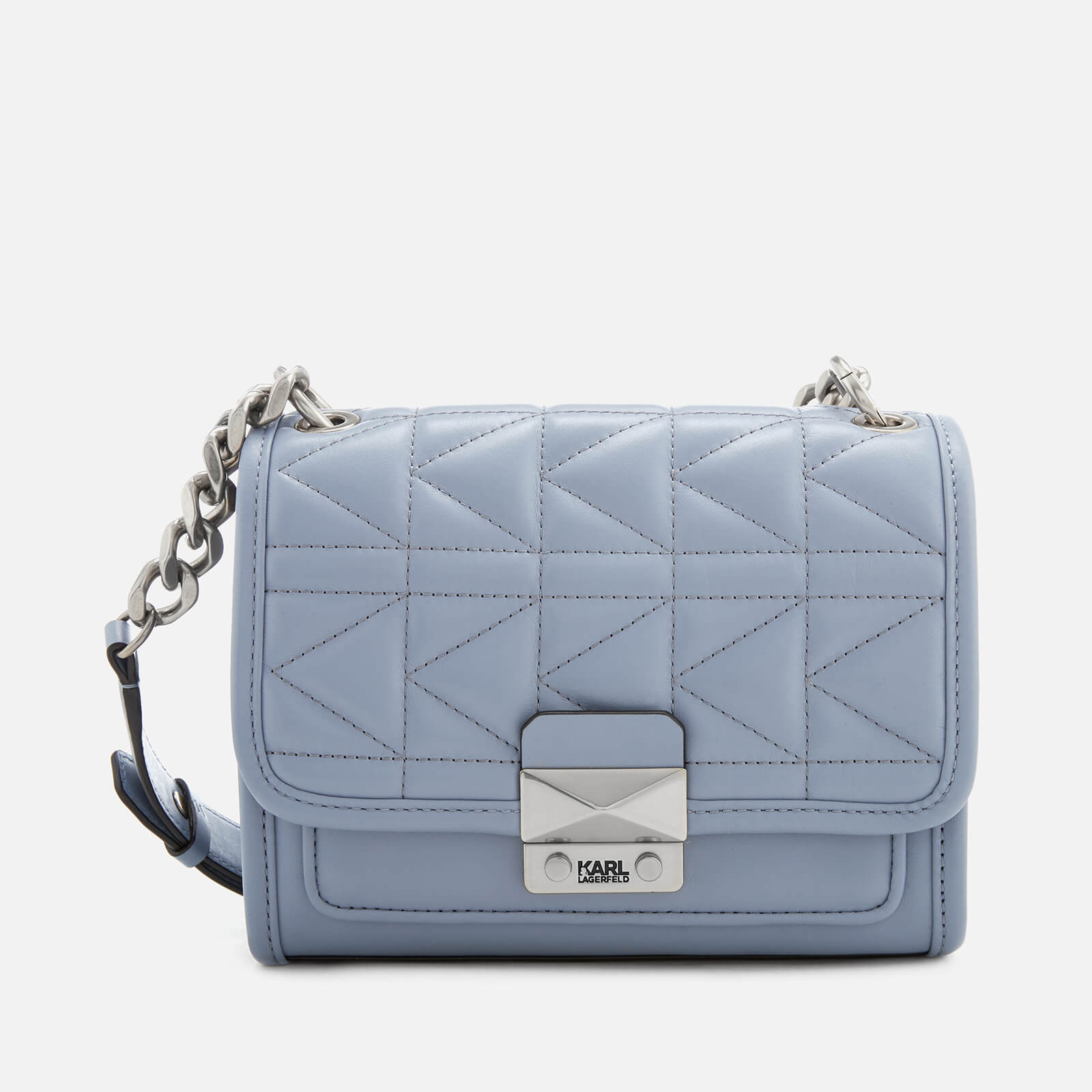 0105bd3396a6 Karl Lagerfeld Women s K Kuilted Mini Handbag - Mistic Blue - Free UK  Delivery over £50