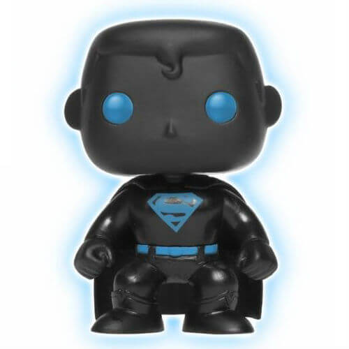 DC Justice League Superman Glow in the Dark Silhouette EXC Pop! Vinyl Figure