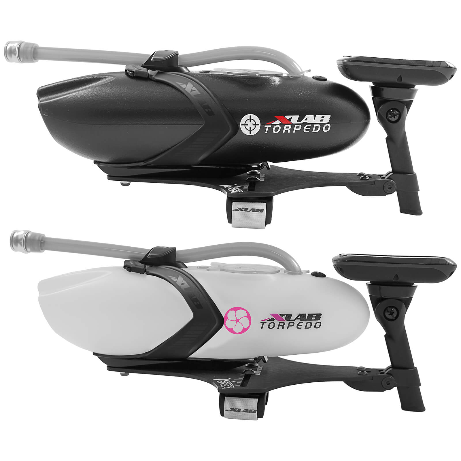 Mount Only Black XLab Bicycle Aerobar Torpedo Versa Hydration Aluminum Mount