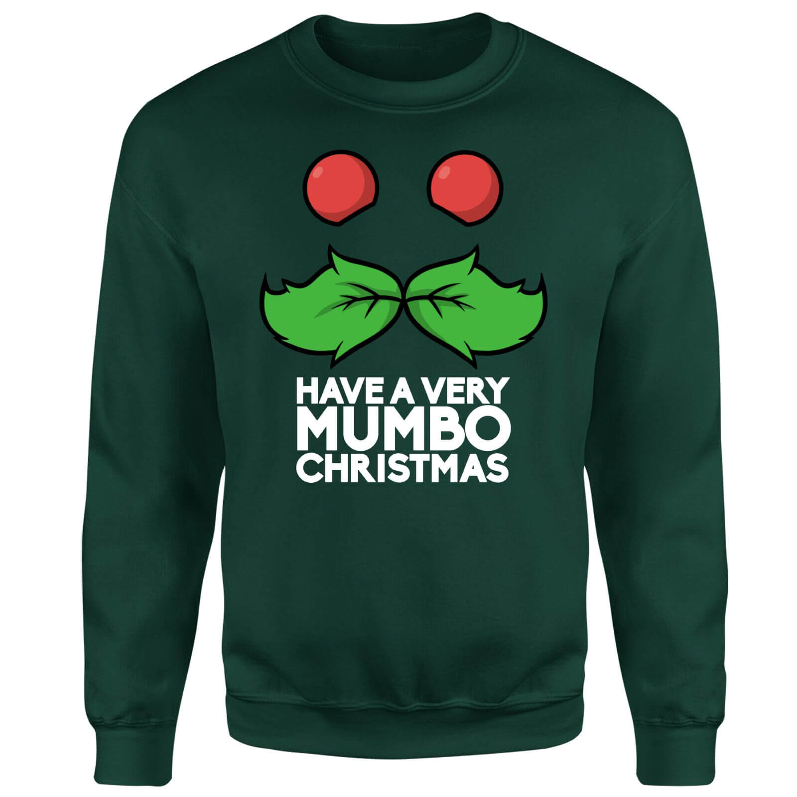 Mumbo Jumbo Have A Mumbo Christmas Green Sweatshirt