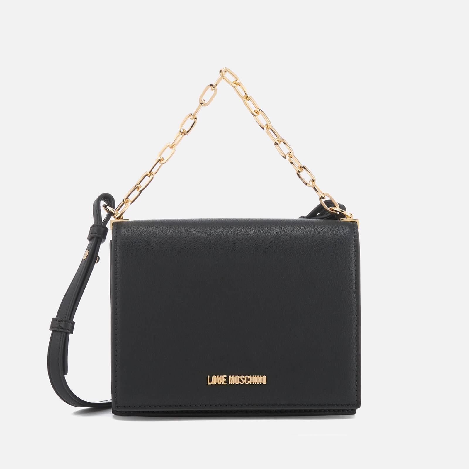 93547c77f8 Love Moschino Women's Clutch Bag - Black Womens Accessories | TheHut.com