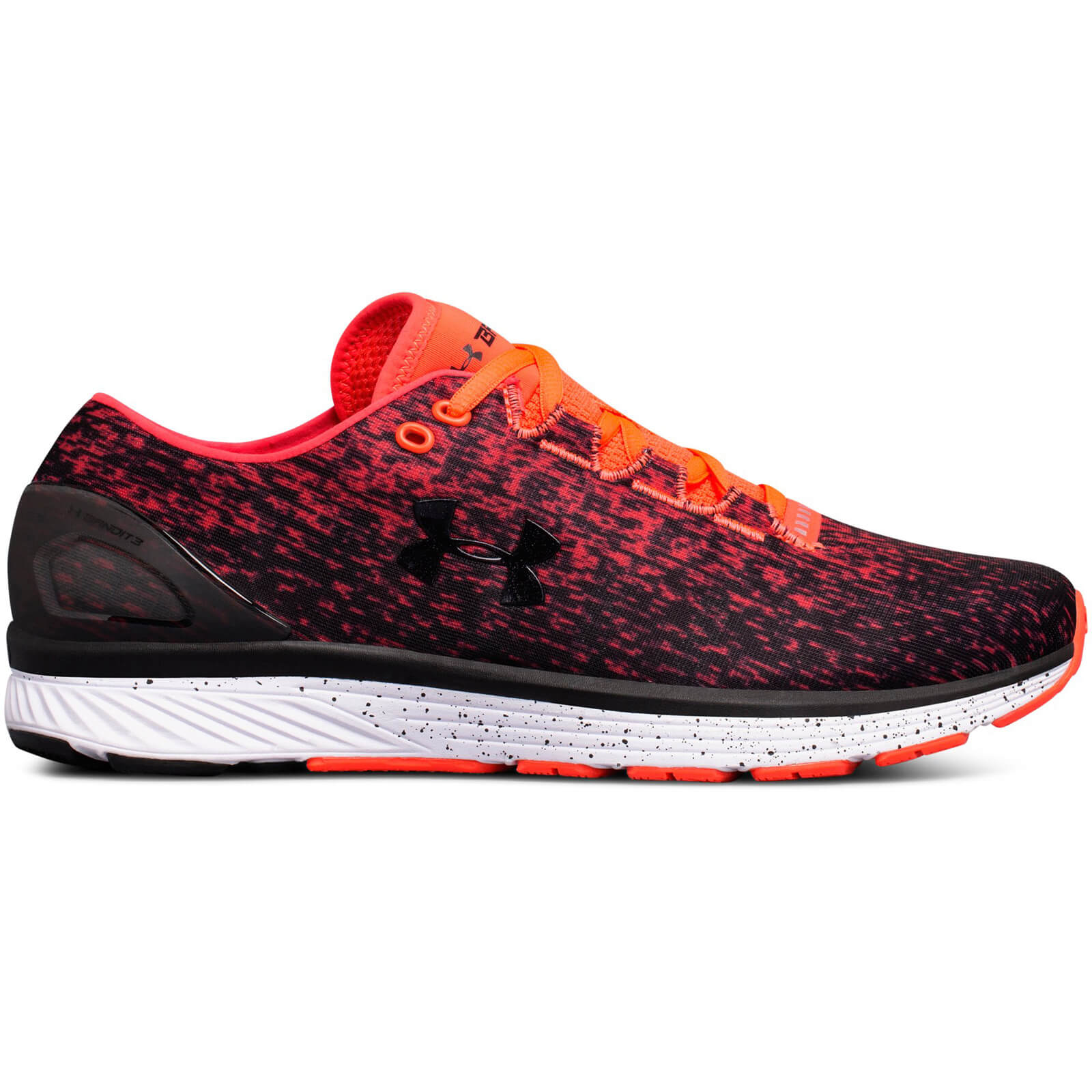 3d030f721bfd Under Armour Men s Charged Bandit 3 Ombre Running Shoes - Red ...