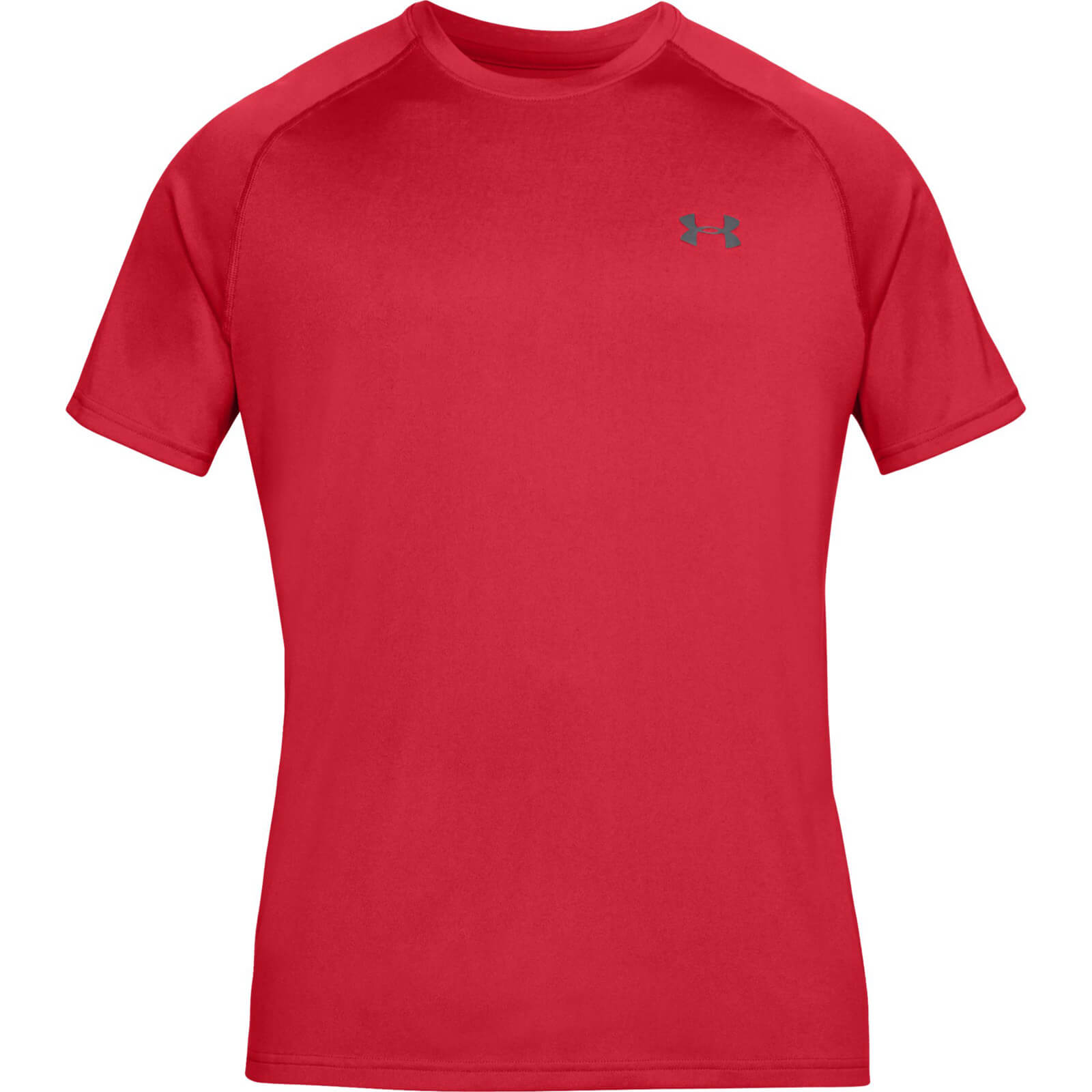 616b0b5baa2b Under Armour Men's Tech T-Shirt - Red   ProBikeKit.com