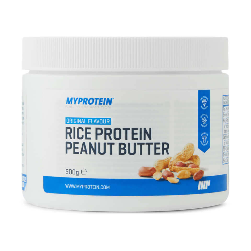 Rice Protein Peanut Butter, Original, 500g